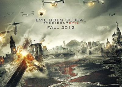 Resident Evil: Retribution (re-shoots)