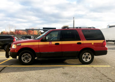 Car 8 - Fire Chief Vehicle 5